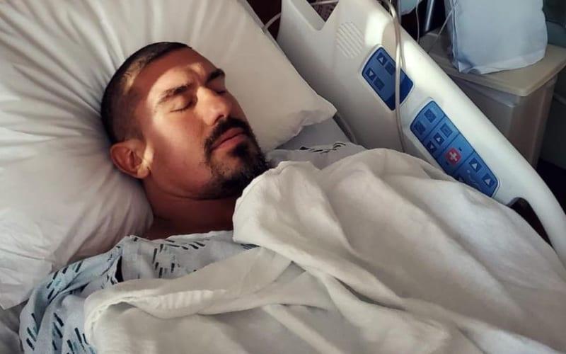 EC3 está hospitalizado devido a infecção