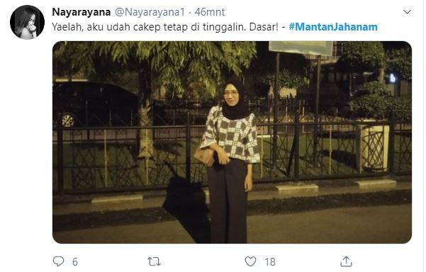 Status Lucu twitter untuk para Mantan Jahanam