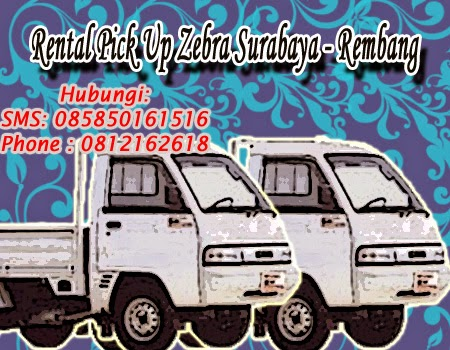 Rental Pick Up Zebra Surabaya - Rembang
