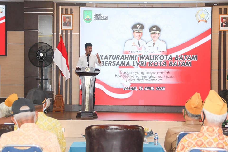 Rudi Gelar Silaturahmi Dengan Para Pejuang Kemerdekaan