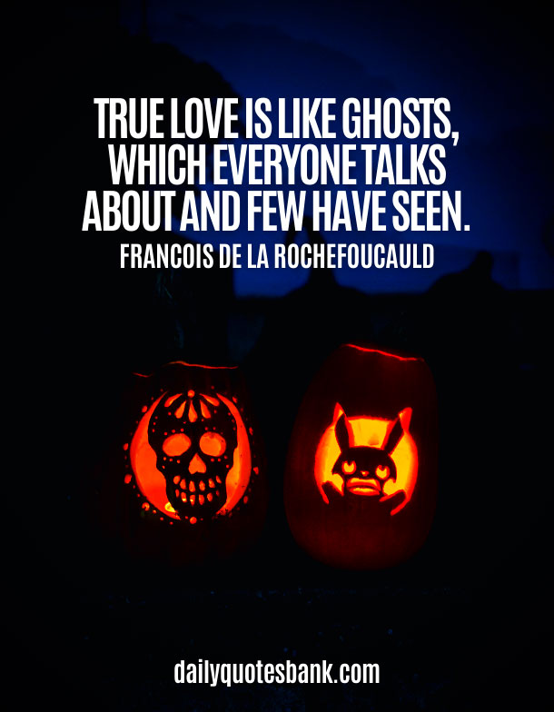 Love Quotes About Halloween