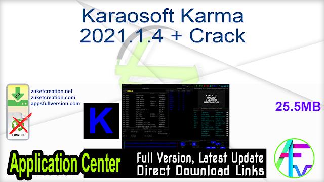 Karaosoft Karma 2021.1.4 + Crack