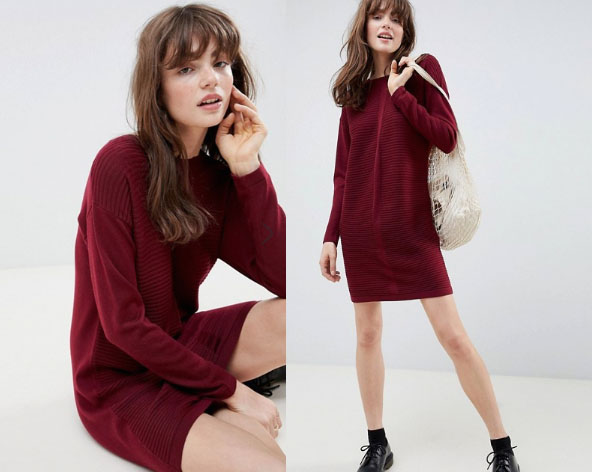 ASOS Knit Dress - My Top High Street Finds #3 - The Autumn Edit // Lauren Rose Style // Fashion Blogger London Wishlist