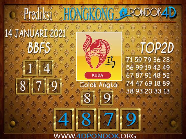 Prediksi Togel HONGKONG PONDOK4D 14 JANUARI 2021