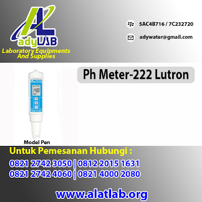 0821 4000 2080 Jual pH Meter Bogor  Harga pH Meter Lutron Ady Water