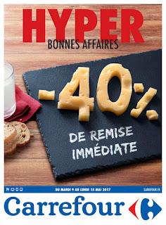 Catalogue Carrefour 09 au 15 Mai 2017