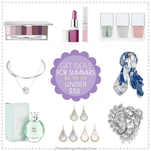 Fashionable gift ideas under 50USD for Summer seasonal color women by 30somethingurbangirl.com