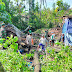 Rumah Warga Tertimpa Pohon, Koramil 10/Gantiwarno Bantu Evakuasi