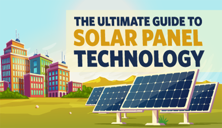 The Ultimate Guide to Solar Panel Technology #infographic