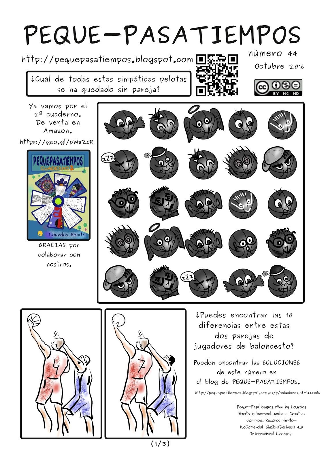 Peque-pasatiempos: PEQUE-PASATIEMPOS nº44