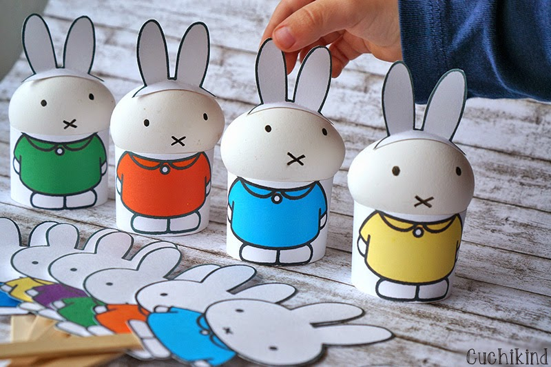 cuchikind diy blog basteln und n hen f r kinder miffy ostern printables. Black Bedroom Furniture Sets. Home Design Ideas