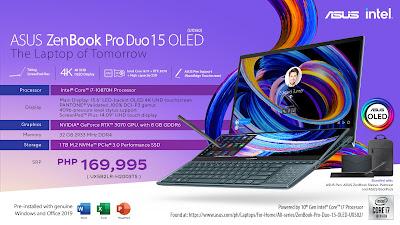 ASUS ZenBook Pro Duo 15 OLED i7