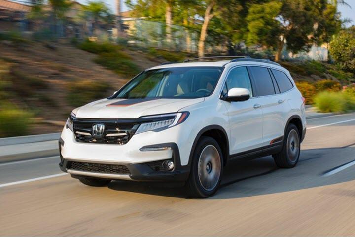 Honda Pilot 2021 thêm phiên bản đặc biệt, giá từ 38.960 USD