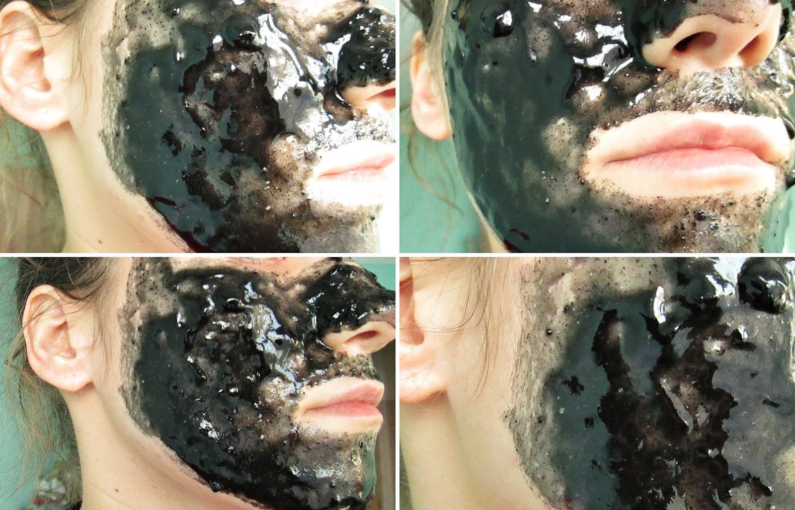 Czarna maska DIY na wągry węgiel aktywowany i żelatyna