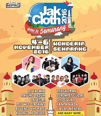 Jak Cloth 2016 Goes to Semarang