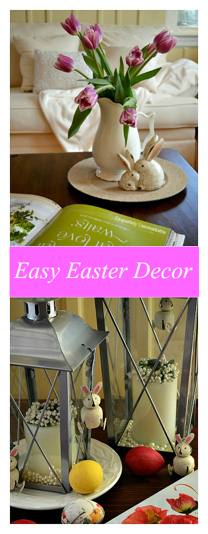 Easy Spring and Easter Decor Ideas