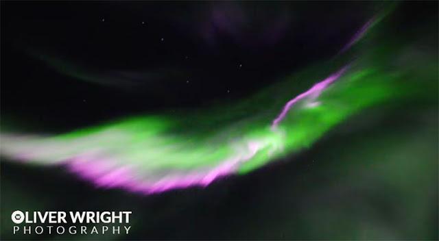 Auroras boreais - Oliver fotografo