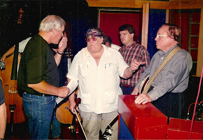 (L-R) Tom T. Hall, Benny Martin, Hugh Moore, Earl Scruggs The Music Mill - Nashville, TN