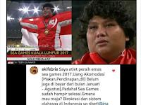 Heboh! Pengakuan Atlit Peraih Emas Blak-blakan Kenapa Prestasi Indonesia di SEA Games 2017 Ancur