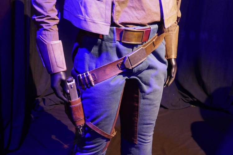 Finn costume belt holster Star Wars Rise of Skywalker