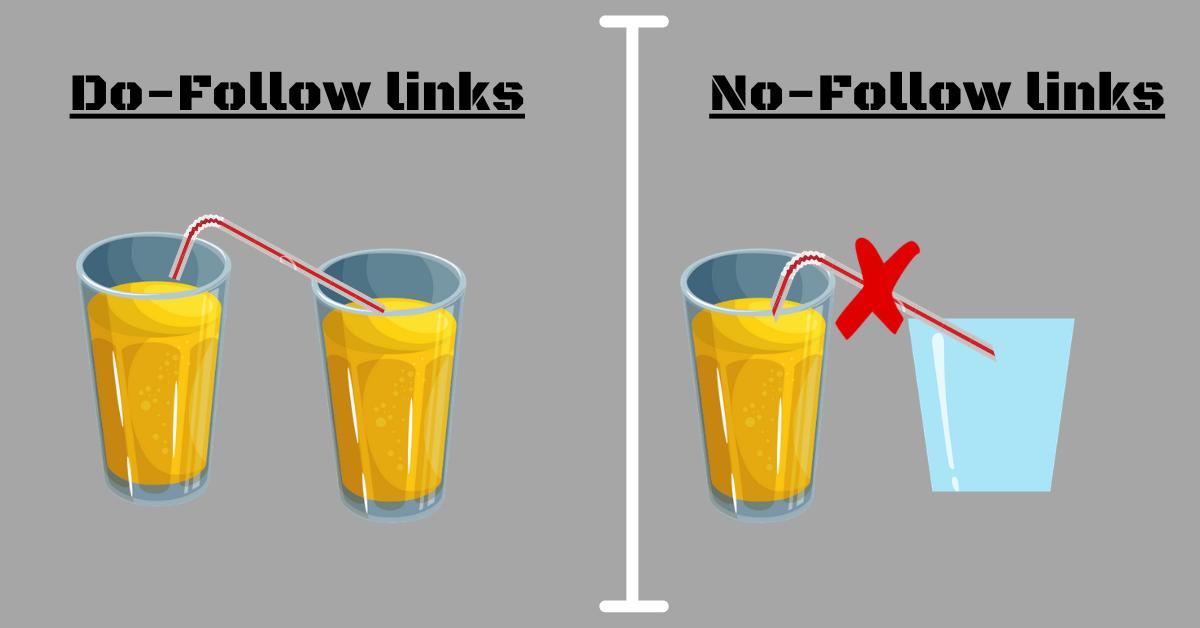 Do-follow and No-follow links