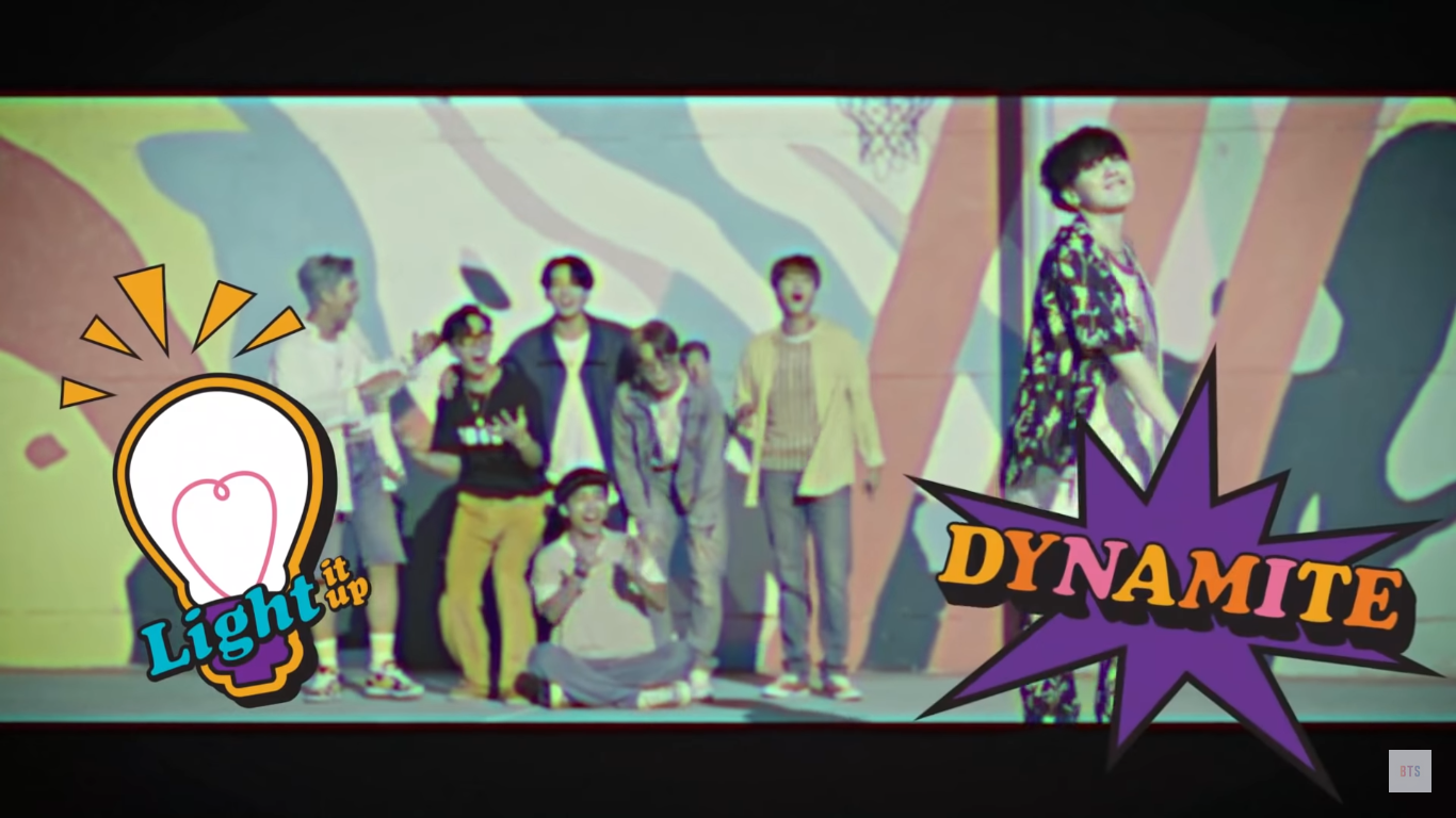 BTS Bring Fans Back to the 70s with the Remix Version of 'Dynamite'