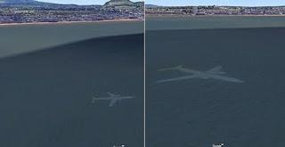 Άντρας εντόπισε βυθισμένο αεροπλάνο από το Google Earth