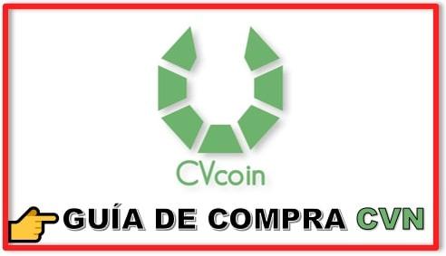 Cómo y Dónde Comprar Criptomoneda CVCOIN CVN Paso a Paso