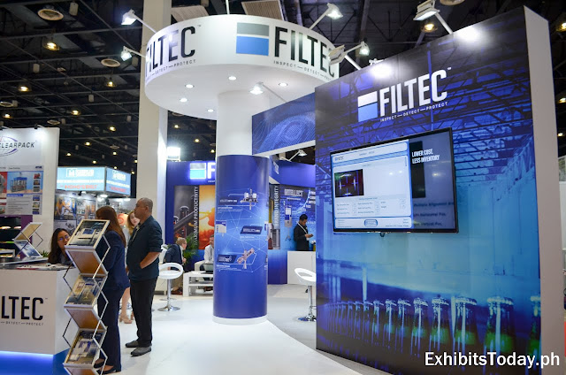 FILTEC Tradeshow Display (side)