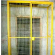 EDGE PROTECTION FOR OPEN ELEVATOR OR LIFT SHAFT AT BUILDING CONSTRUCTION