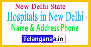 Hospitals in New Delhi