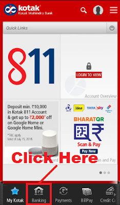 how to open fd in kotak bank online