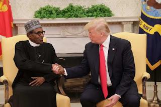 Buhari And Donald Trump