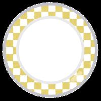 回転寿司の皿のイラスト5