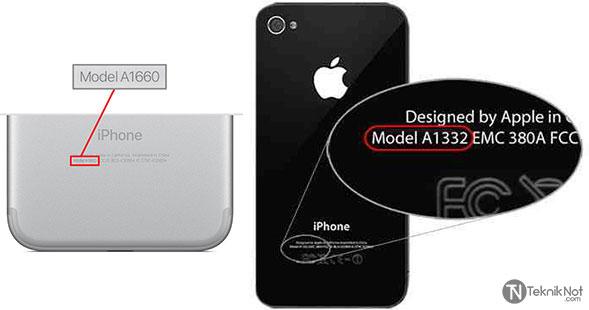 iPhone Model Öğrenme, iPhone Modeli Nasıl Öğrenilir?