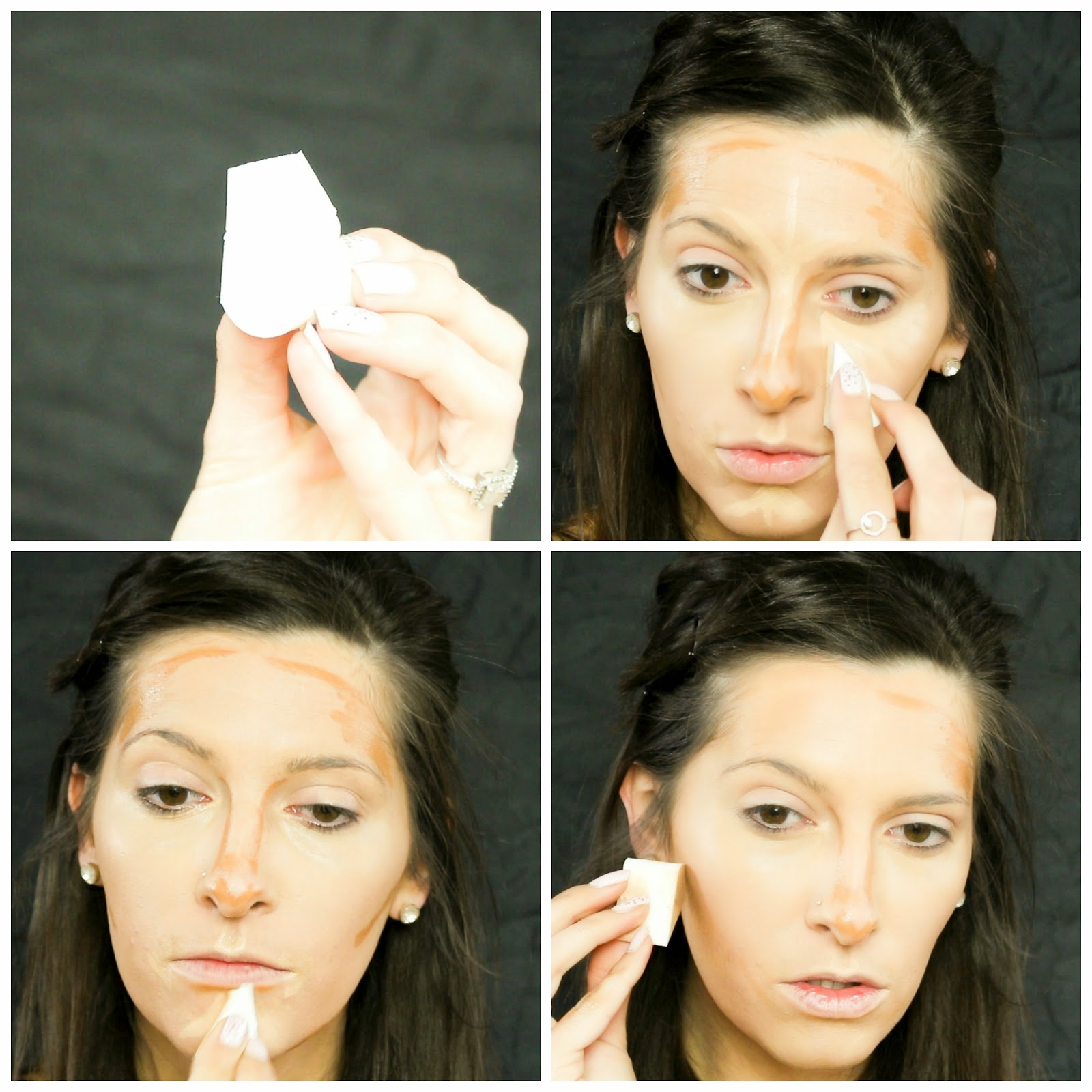 Laurajanestyle natural glam makeup tutorial blend highlight and contour beauty sponge flawless finish baditri Choice Image