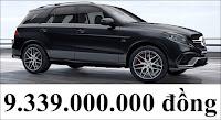 Giá xe Mercedes AMG GLE 63 S 4MATIC 2019
