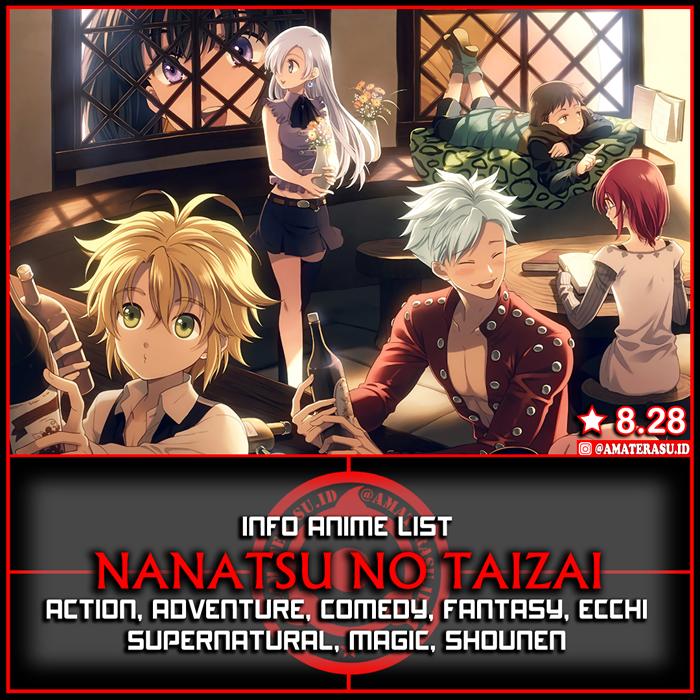 Info Anime List Anime Nanatsu No Taizai