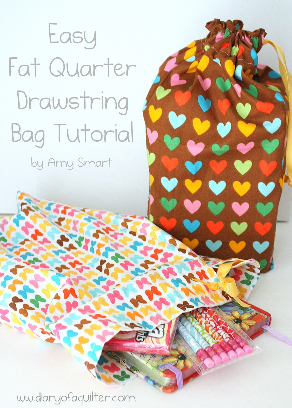 how to make fabric storage bags for quilt