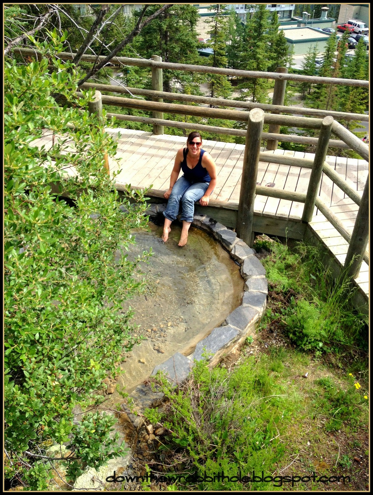 things to do in Alberta, Banff Upper Hot Springs, outdoor hot spring