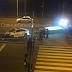 В Харькове полицейское авто снесло светофор (Фото)