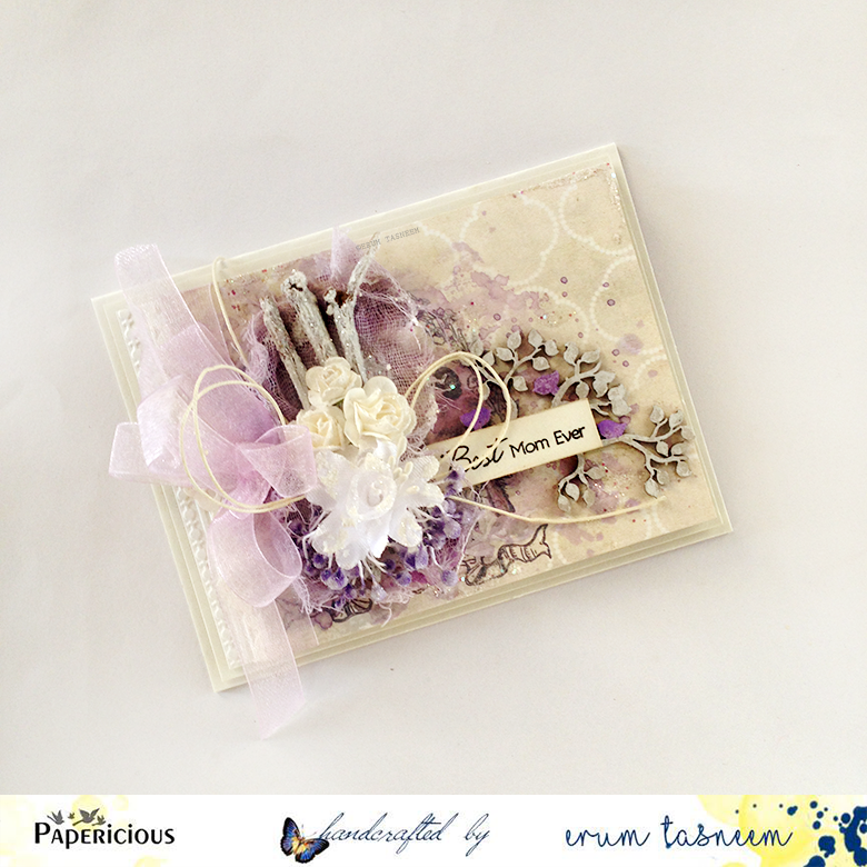 Papericious Whimsical Paper pack, card by Erum Tasneem pr0digy0