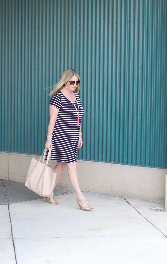 Stripe-Spring-Dress