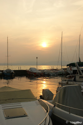 Tramonto sul Lago di Garda da Lazise
