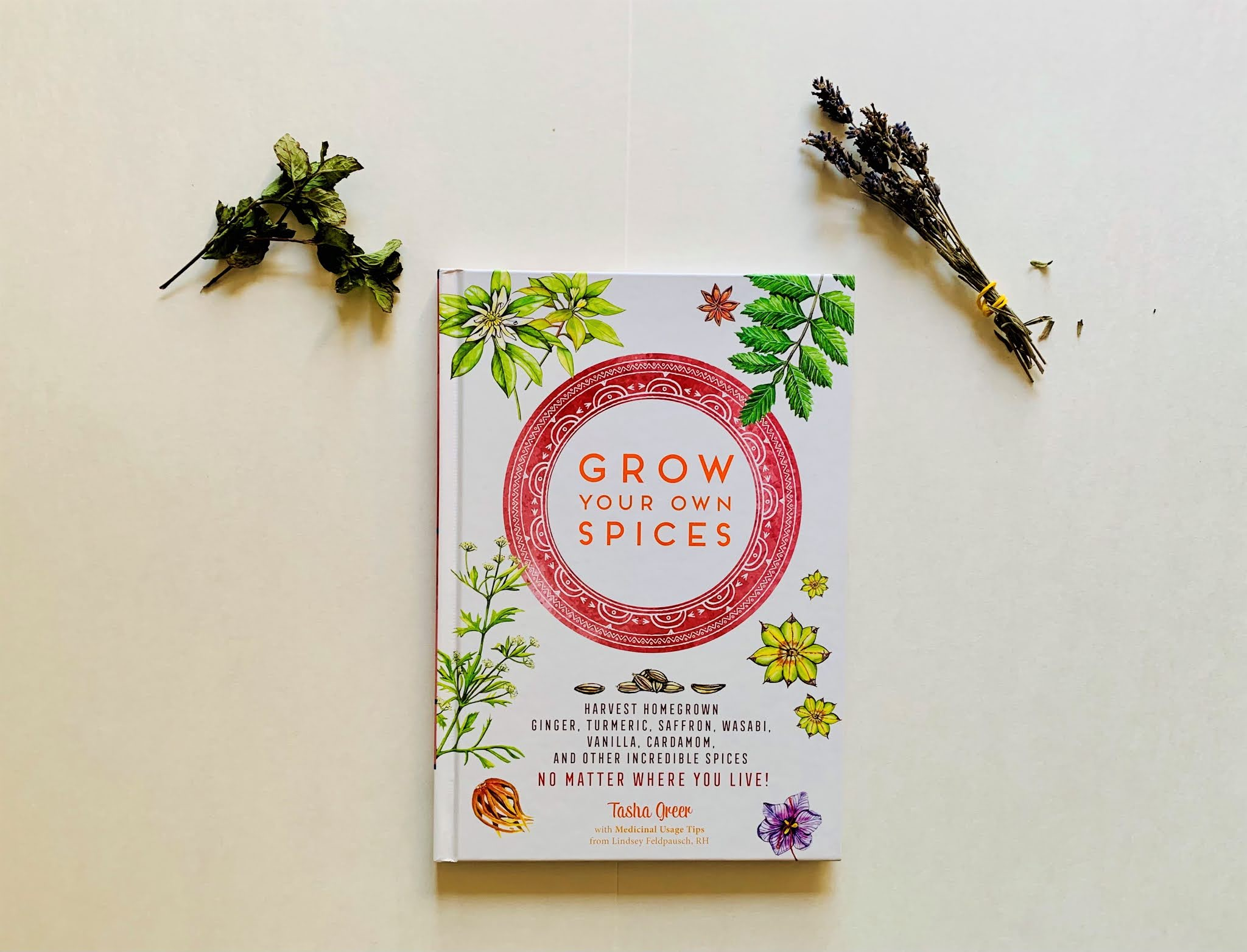 Grow your own spices book