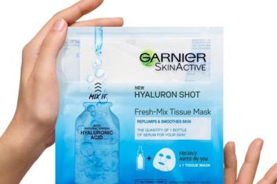 Μάσκα με υαλουρονικό οξύ