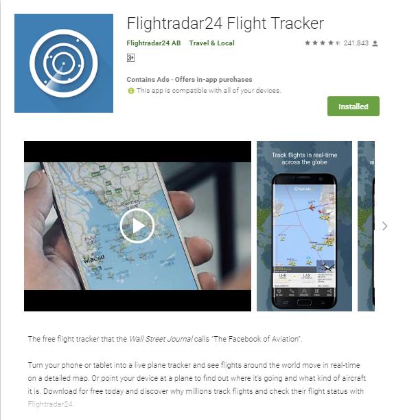 Flightradar24 Api