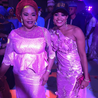 #Oba2018 photos from Nollywood stars Okiki Afolayan and Abimbola Ogunnowo's traditional wedding.