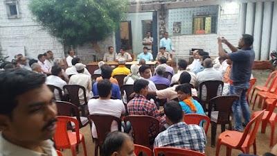 नवरात्रि, विजयादशमी एवं चैल्लूम के त्यौहारों को लेकर शान्ति समिति की बैठक सम्प्पन्न | Bairad News