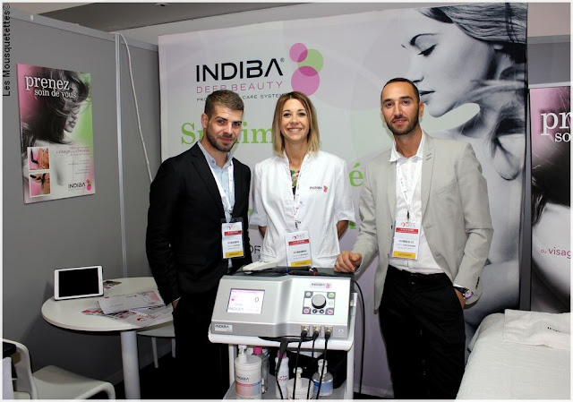 Beauty Forum Paris - Indiba Deep Beauty - Blog beauté Les Mousquetettes©
